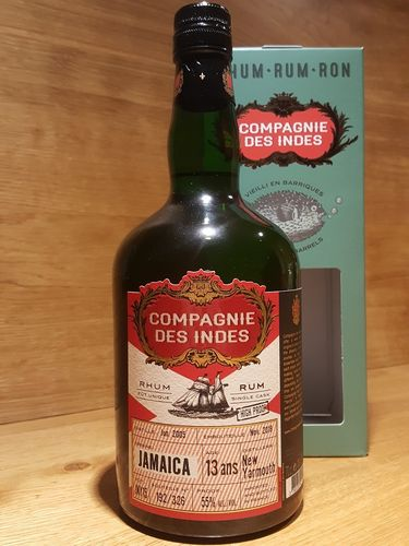 Compagnie des Indes Jamaica Single Cask 13 Jahre (NEW YARMOUTH Distillery)