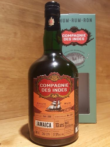 Compagnie des Indes Jamaica Rum 10 Jahre CS (Multiple Distilleries)
