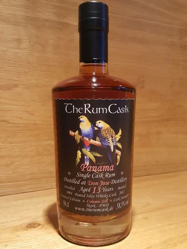 The Rum Cask Single Cask Rum 2004 Panama Don Jose 13 Jahre Peated Islay Whisky