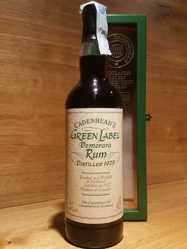 Cadenhead's Guyana Green Label Demerara 1975 40% Vol.