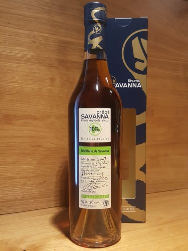 Savanna Creol Rhum Vieux Agricole 10YO 2007/2017 Single Cask