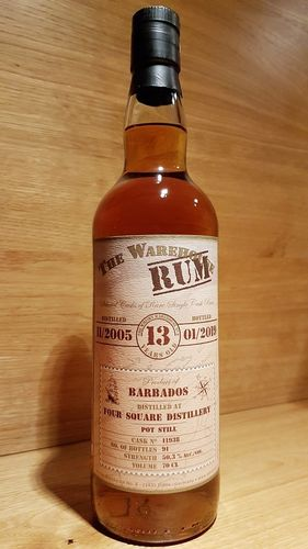 Warehouse Rum Barbados Foursquare Distillery  2005/2019 13 Jahre