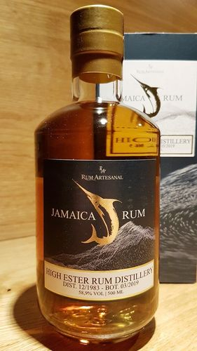 RA Rum Artesanal Jamaica High Ester Single Cask Rum 1983 35 Jahre