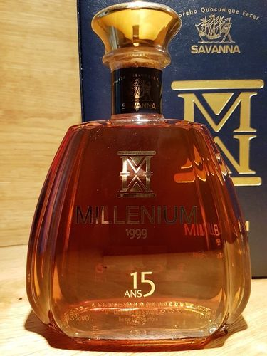 Savanna Millenium Rhum Vieux Traditionnel 1999 15 Jahre