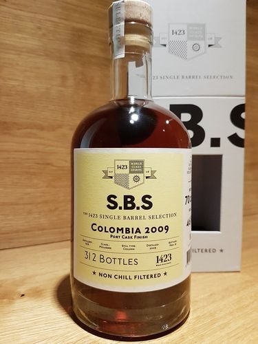 1423 S.B.S. Columbia 2009 - 2019 - Port Cask Finish