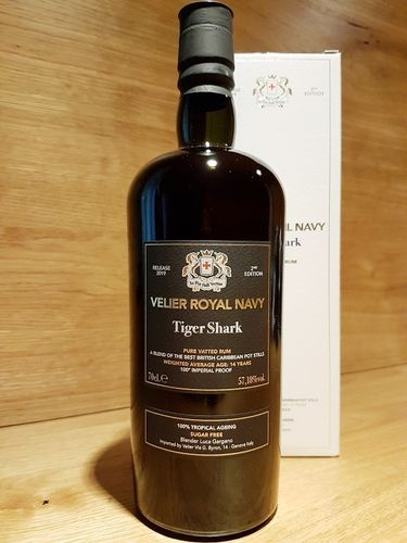 Velier Royal Navy Tiger Shark Rum