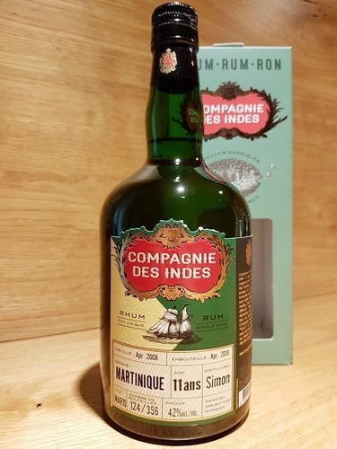 Compagnie des Indes Martinique Simon Distillery 11 Jahre Rum