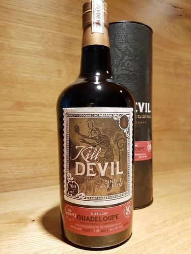 Kill Devil Guadeloupe 20 Jahre Cask Strength - The Whisky Barrel
