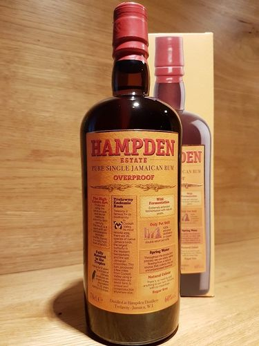 Hampden Pure Single Rum Overproof 60%