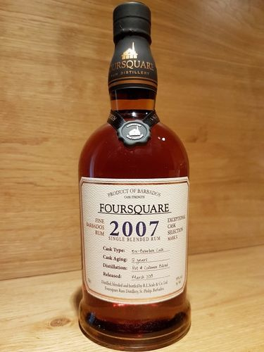Foursquare Cask Strength Rum 2007