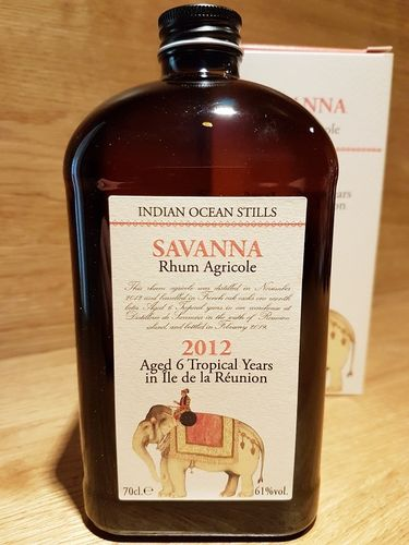 Velier Indian Ocean Stills - Savanna Rhum Agricole 2012/2019 6Y.