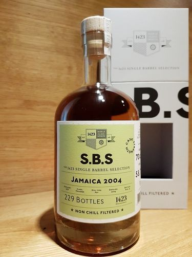 1423 S.B.S. Jamaica 2004 - 2019 - Cask Strength