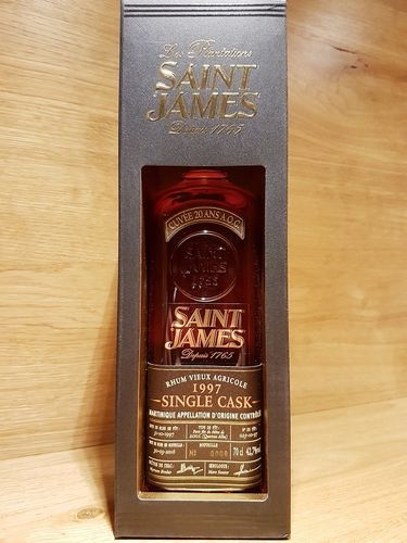 Saint James Single Cask Rhum Vieux Agricole 1997-2016