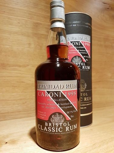 Bristol Caroni Trinidad Rum 1998/2019 Single Cask No. 2186