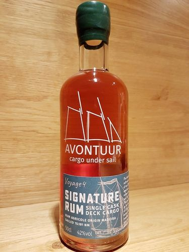 AVONTUUR Signature Rum - Deck Cargo - Madeira Single Cask