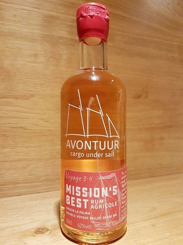 AVONTUUR Mission's Best Rum - Single Cask Rum