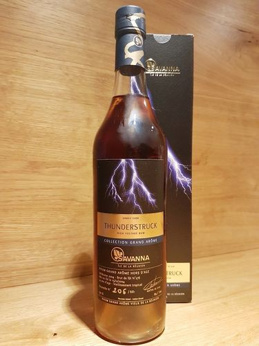 Savanna Collection Rhum Vieux Gande Arôme Single Cask 14YO Thunderstruck