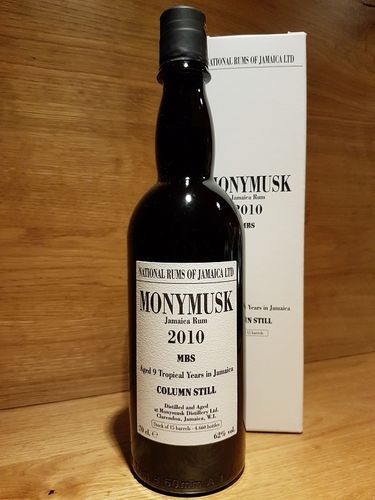 National Rums of Jamaica –  Monymusk 2010 MBS 9 Jahre
