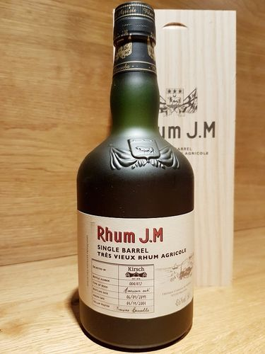 Rhum J.M Single Barrel 14 Jahre 2004-2019 for Kirsch Import