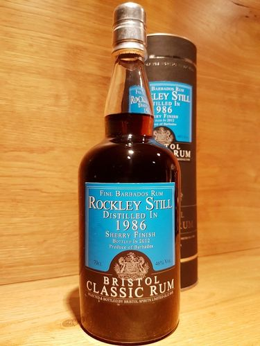 Bristol Classic Barbados Rum (Sherry Finish) Rockley Still 1986/2012