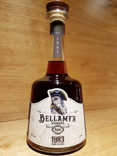 BELLAMY'S RESERVE Rum 1983 Panama Single Cask Aged 37 Years Old
