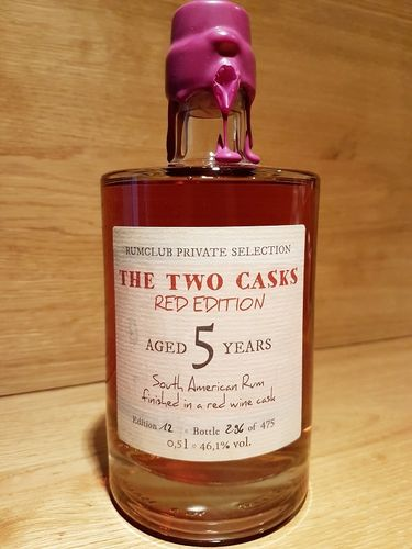 Rumclub Private Selection Ed. 12 The Two Casks Red Edition