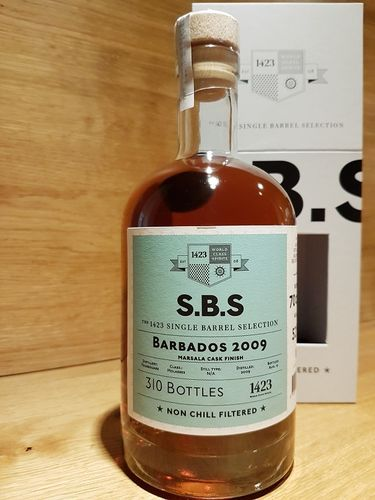 1423 S.B.S. Barbados 2009 Marsala Cask Finish