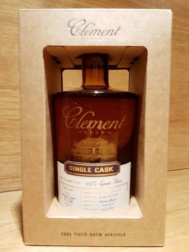 Clement Rhum Vieux Single Cask Canne Bleue 2015