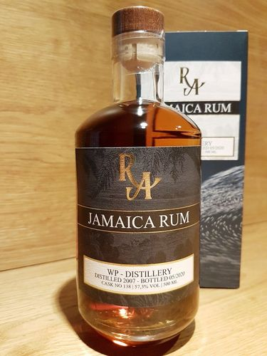 RA Rum Artesanal Jamaica WP Single Cask Rum 2007 12 Jahre - Islay Finish