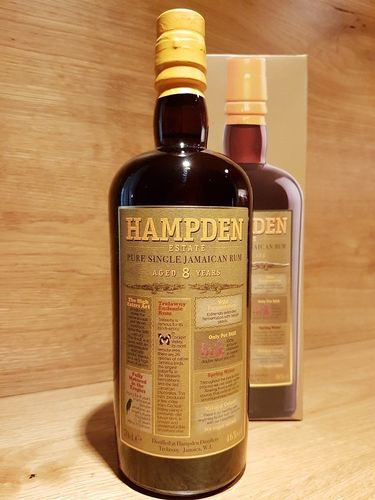 Hampden Pure Single Rum Batch 2 46%