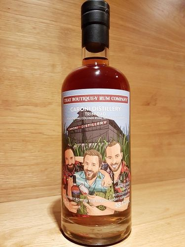 That Boutique-Y Rum Company Caroni Rum 22 y.o. - Batch 4 - Bottled for Kirsch