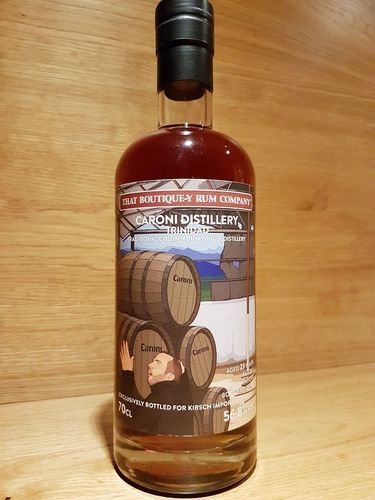 That Boutique-Y Rum Company Caroni Rum 23 y.o. - Batch 3 - Bottled for Kirsch