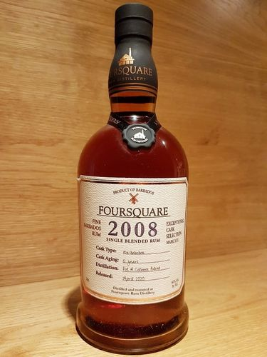 Foursquare Cask Strength Rum 2008