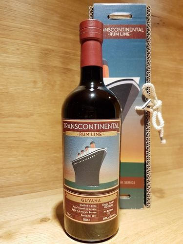 Transcontinental Rum Line Guyana 2003/2019 Single Cask Rum