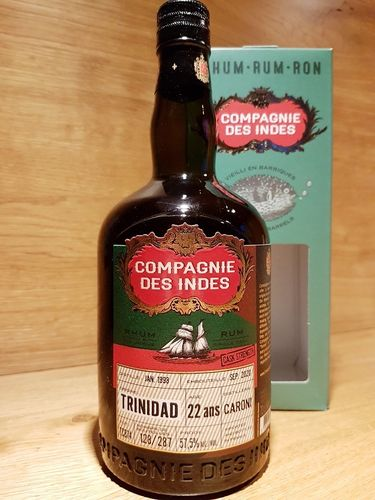 Compagnie des Indes Caroni Trinidad Single Cask 22 Jahre CS
