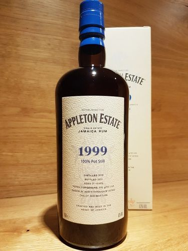 Velier Appleton Rum 21 y.o. 1999/2020 - Hearts Collection