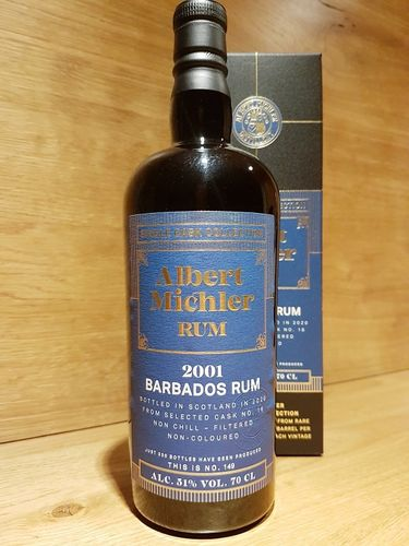 Albert Michler Single Cask Collection Rum Barbados Foursquare 2001/2020