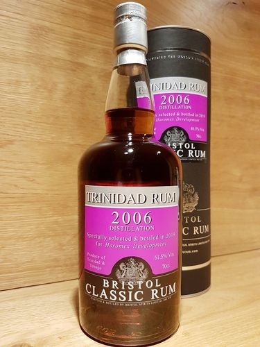 Bristol Trinidad & Tobago Rum 2006/2019 Single Cask No. 472/2