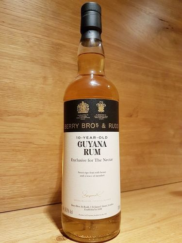 Guyana 2010/2020 - 10 y.o. - The Nectar of the Daily Drams (Berry Bros & Rudd)