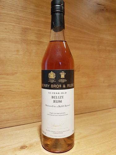 Berry Bros & Rudd Belize Rum 2007 13 Jahre - Refill Barrel